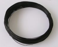 23M Aluminium craft wire 1.0mm Black